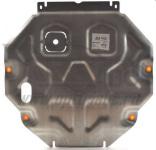 Защита картера двигателя и КПП, алюминий (V - все, кроме 3,0) АВС-Дизайн 01.723.AL Mitsubishi Outlander (3G) 2012-