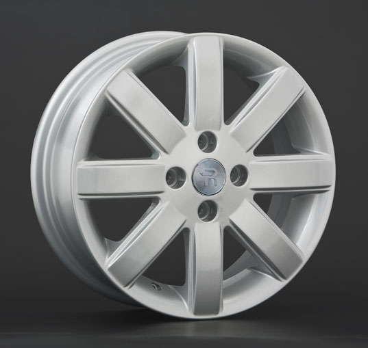 Диск колесный Replay NS44 5,5xR15 4x114,3 ET40 ЦО66,1 серебристый 005305-020067010