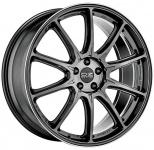 Диск колесный OZ Hyper XT HLT 10,5xR20 5x112 ET18 ЦО66,46 серый темный с полированной лицевой частью W01A70001D6
