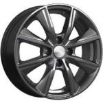Диск колесный СКАД Порту 6xR15 4x100 ET50 ЦО60.1 серый тёмный матовый 3450627