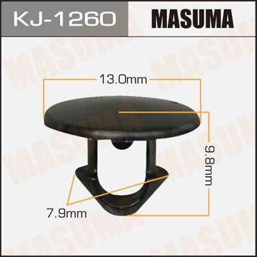 Клипса автомобильная (автокрепеж), уп. 50 шт. Masuma KJ-1260