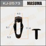 Клипса автомобильная (автокрепеж), уп. 50 шт. Masuma KJ-2573