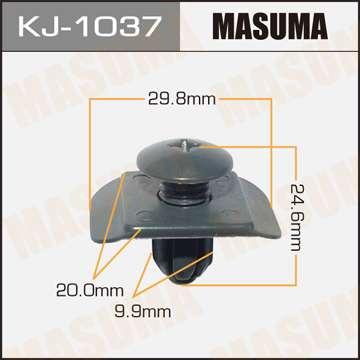 Клипса автомобильная (автокрепеж), 1 шт., Masuma KJ-1037