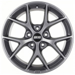 Диск колесный BBS SR016 8xR18 5x112 ET45 ЦО82 серый матовый 0360483#