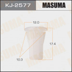 Клипса автомобильная (автокрепеж), уп. 50 шт. Masuma KJ-2577