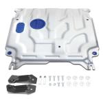 Защита картера двигателя и кпп Rival 333.2369.1 алюминиевая (толщина 4 мм)