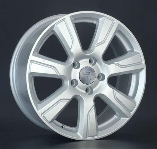 Диск колесный Replay LR38 8xR19 5x120 ET53 ЦО72,6 серебристый 032351-040210012