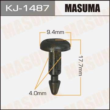 Клипса автомобильная (автокрепеж), уп. 50 шт. Masuma KJ-1487
