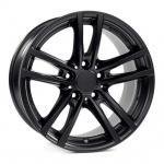 Диск колесный Rial X10 5xR19 5x112 ET43 ЦО66,5 чёрный матовый X10-50943W64-5