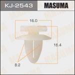 Клипса автомобильная (автокрепеж), уп. 50 шт. Masuma KJ-2543