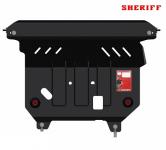 Защита картера и КПП стальная, Sheriff для Ford EcoSport