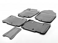 Коврики в салон Rival полиуретан черный 15706001 Toyota RAV4 (4G) CA40 рест. 2015-