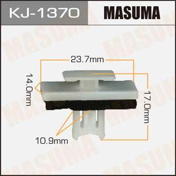 Клипса автомобильная (автокрепеж), уп. 50 шт. Masuma KJ-1370
