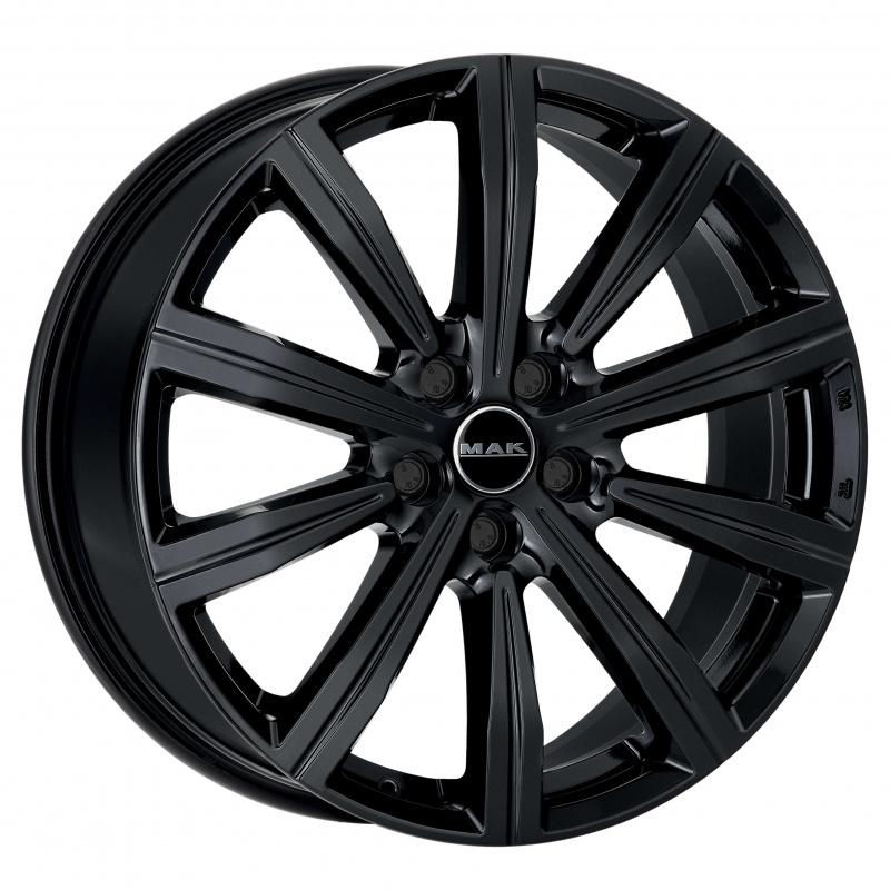 Диск колесный MAK Birmingham 9xR22 5x108 ET45 ЦО63,4 черный глянцевый F9022IRGB45GD3X