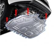 Защита двигателя стальная ROTiSS  для Chery Tiggo 4 (Чери Тигго 4)