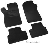 Коврики салона текстильные, чёрные (5D) SV-Design 3617-UNF3-13M для Mitsubishi Pajero IV 2006-