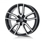 Диск колесный Rial Torino 8xR19 5x114.3 ET40 ЦО70.1 черный глянцевый с полированной лицевой частью TOR80940B83-1