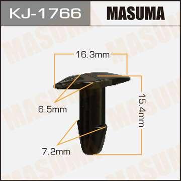 Клипса автомобильная (автокрепеж), уп. 50 шт. Masuma KJ-1766