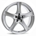 Диск колесный Borbet F 7xR17 5x112 ET50 ЦО57.1 серебристый 8135789