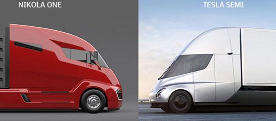 Запуск грузовиков Semi от Tesla<