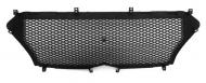 Рамка - сетка защиты радиатора серая Allest для Hyundai Soalris 2017 -
