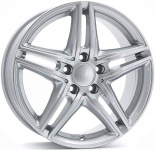 Диск колесный Borbet XR 7,5xR17 5x112 ET30 ЦО66,5 серебристый 8131046
