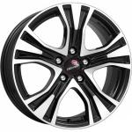 Диск колесный Remain R159 7xR17 5x114,3 ET45 ЦО60,1 черный глянцевый с полированной лицевой частью 15903AR
