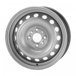 Диск колесный KFZ 8895 6,5x16 4x100 ET37 ЦО56,5 серебристый