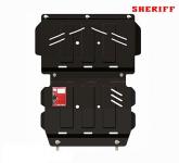 Защита двигателя SHERIFF 141143 для Mitsubishi Pajero Sport (2008 - 2016)