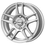 Диск колесный Carwel Лама 130 6xR15 4x100 ET40 ЦО60.1 серебристый металлик 101903