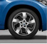 Диск колесный R17 BMW Double spoke 561 36106866106 сильвер BMW X1 (F48) 2015-