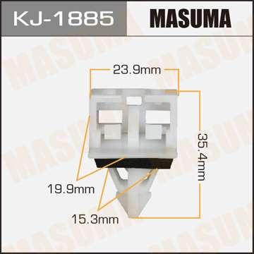 Клипса автомобильная (автокрепеж), 1 шт. Masuma KJ-1885