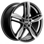 Диск колесный Fondmetal Hexis 8xR18 5x112 ET40 ЦО66,5 серый глянцевый с полированной лицевой частью FMI01 8018405112NTI2