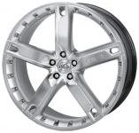Диск колесный Antera 503 9xR20 5x108 ET43 ЦО75 серебристый с полированной лицевой частью 503 900 D09