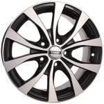 Диск колесный NEO 665 6.5xR16 5x114.3 ET45 ЦО60.1 чёрный с полированной лицевой частью rd832235