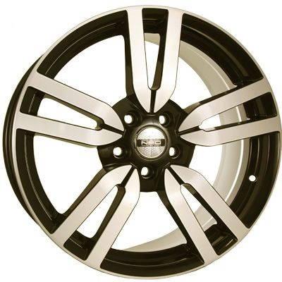 Диск колесный NEO 809 8xR18 5x108 ET53 ЦО63,4 серый с полированной лицевой частью rd832320