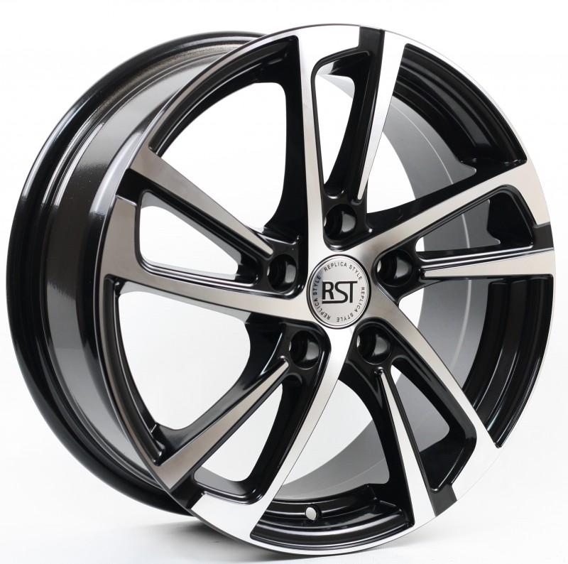 Диск колесный RST R046 6,5xR16 5x114,3 ET50 ЦО67,1 черный  RR046-6516-671-5x1143-50