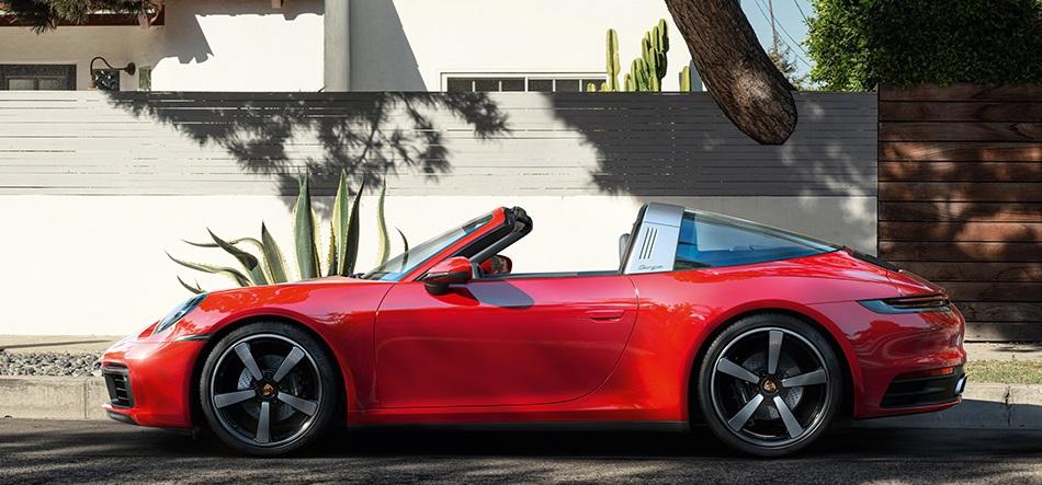 Porsche 911 с необычной крышей Targa