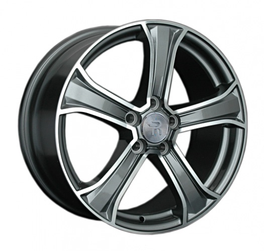 Диск колесный REPLAY LR17 8xR18 5x108 ET45 ЦО63,3 серый глянцевый с полированной лицевой частью 029821-071102