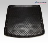Коврик в багажник c органайзером Novline, высокий бортик для Mitsubishi Outlander 2012 - 2018