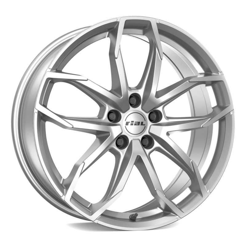 Диск колесный Rial Lucca 8xR18 5x115 ET45 ЦО70,2 серебристый LUC80845G51-0