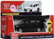 Инерционная машинка (черный) Mitsubishi Pajero Sport ТехноПарк PAJERO-S-MIX