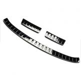 Защитаные накладки BLACK GAZLK на задний бампер и багажный проем для F-Pace