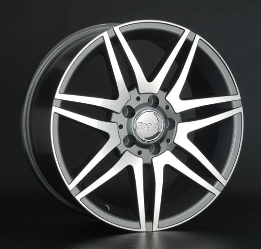 Диск колесный REPLAY MR100 8xR18 5x112 ET53 ЦО66,6 серый глянцевый с полированной лицевой частью 016927-040060006