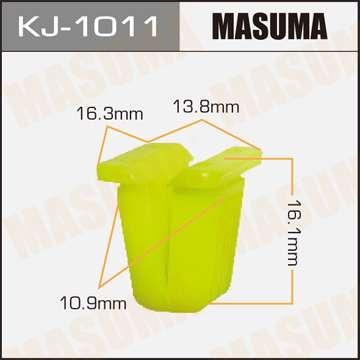 Клипса автомобильная (автокрепеж), уп. 50 шт. Masuma KJ-1011