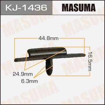 Клипса автомобильная (автокрепеж), 1 шт. Masuma KJ-1436