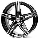Диск колесный Borbet XRS 8xR18 5x112 ET40 ЦО72,5 чёрный глянцевый с полированной лицевой частью 222333