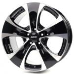 Диск колесный Alutec Dynamite 8.5xR18 5x112 ET51 ЦО66.5 черный глянцевый с полированной лицевой частью 825998