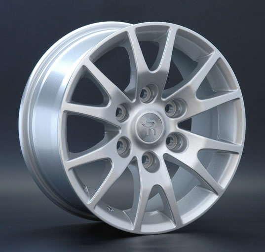 Диск колесный Replay MI38 7xR16 6x139,7 ET38 ЦО67,1 серебристый 015604-070225007