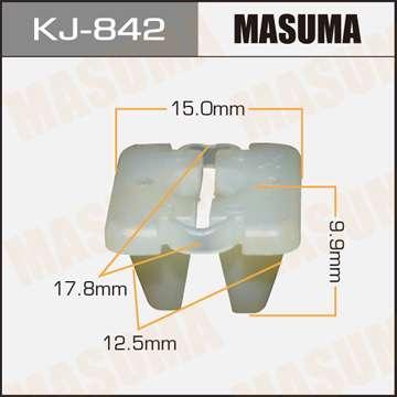 Клипса автомобильная (автокрепеж), 1 шт. Masuma KJ-842